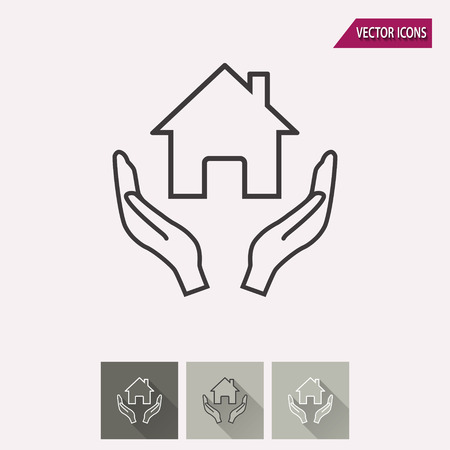 philanthropist: Donate vector icon. Illustration isolated for graphic and web design. Illustration