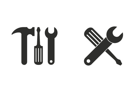 Tool vector icon. Illustration isolated for graphic and web design.