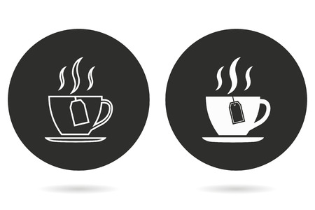 Tea vector icon. Illustration isolated for graphic and web design.