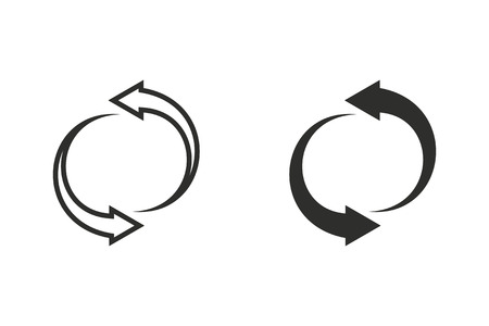 Again vector icon. Illustration