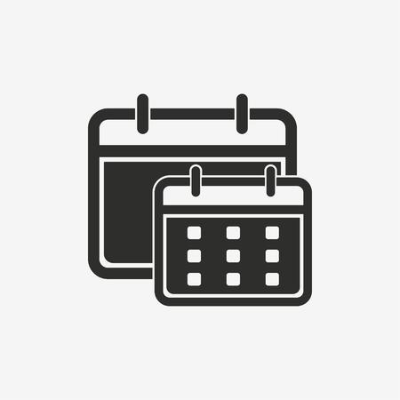 event planner: Calendar vector icon.