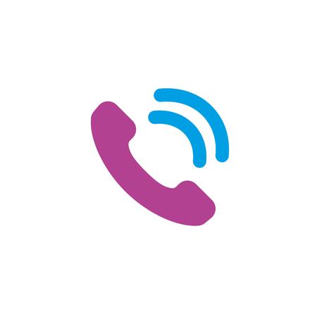 Phone icon, vector illustration