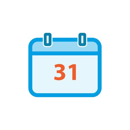 Calendar day icon, event symbol