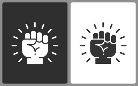 Motivation icons. Vector illustration isolated.