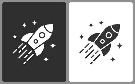 Startup icons. Vector illustration isolated. Ilustrace