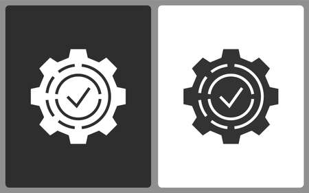 Settings icons. Vector illustration for web sites and mobile application.