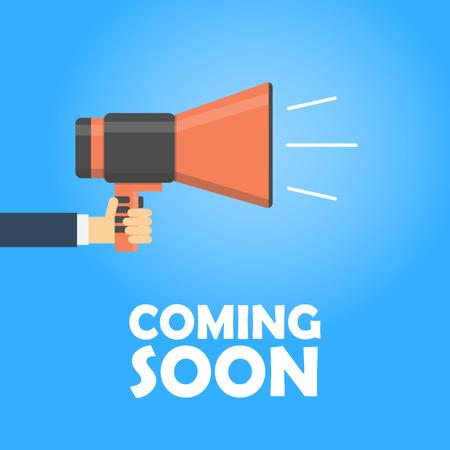 Announcement megaphone