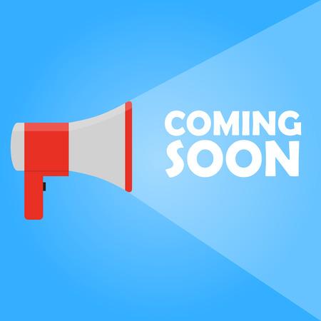 announcement: Announcement megaphone