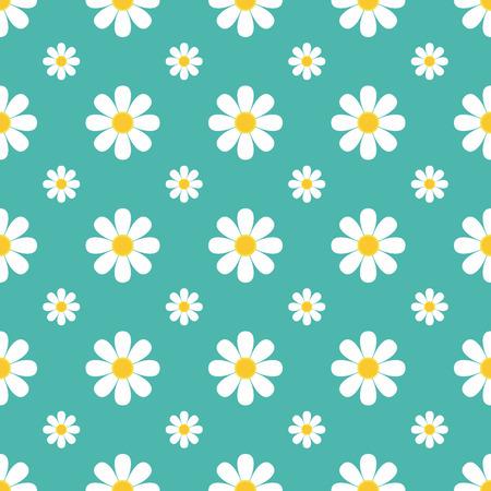 chamomile: Chamomile pattern vector illustration