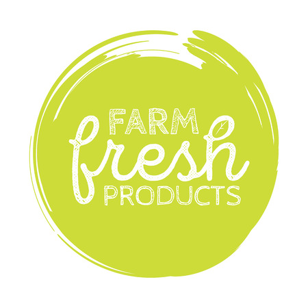 dewy: Stamp with text fresh product inside, vector illustration Illustration