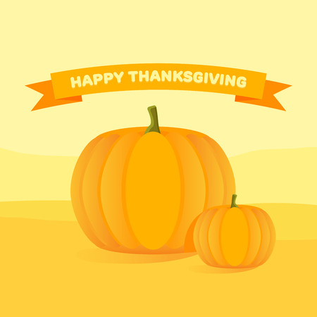 thanksgiving day symbol: Happy Thanksgiving Day celebrations with pumpkins.