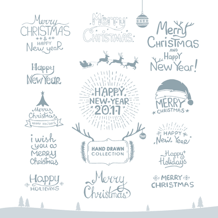 Merry Christmas. Happy New Year, 2017.