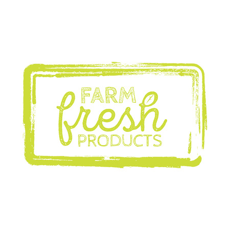 dewy: Stamp with text fresh product inside, vector illustration. Illustration