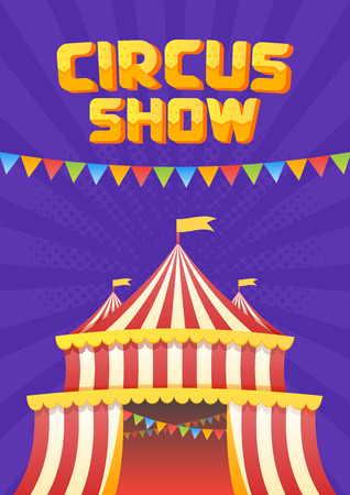 show bill: The moucup of circus poster
