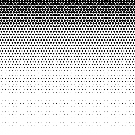 Fade gradient pattern. Vector gradient seamless background. Gradient halftone texture. Illustration