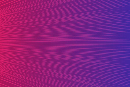 Abstract speed zoom lines background. Dark purple pink Radial motion move blur. Zooming effect. Wave vector illustration Stok Fotoğraf - 123335632