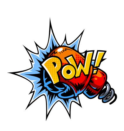Icône de bandes dessinées de vecteur. Bulles d'explosion. Illustration de la bande dessinée qui explose Banque d'images - 68322134