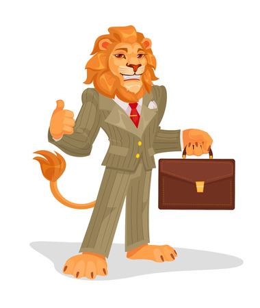 illustration of business king