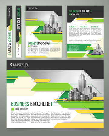 Vector flyer cover design of the companys annual business report annual business report template design vector accmission Gallery