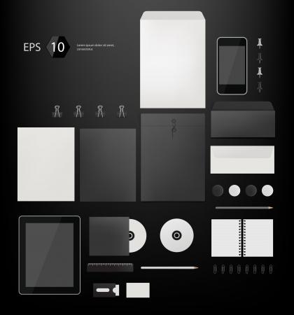 marca libros: Empresa Vector corporativa dise�o de la plantilla de estilo eps10 Foto de archivo