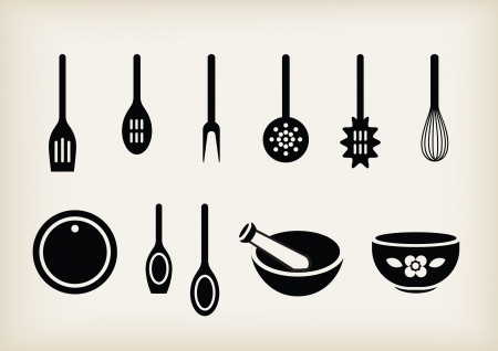set of kitchen tools Stock Vector - 21660897