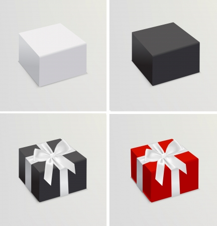 set of 3d realistic branding templates Vector