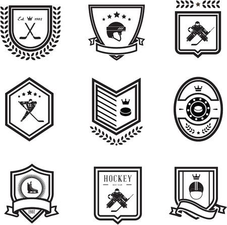 hockey sobre hielo: iconos del deporte del hockey