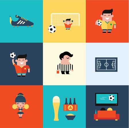 football shoe: soccer icons