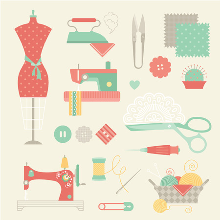 sewing machines: sewing set
