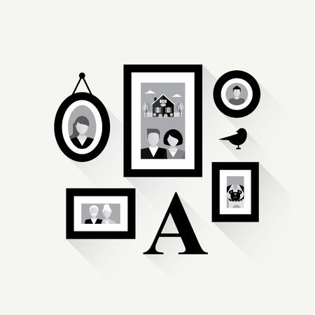 familiy: family frame collage