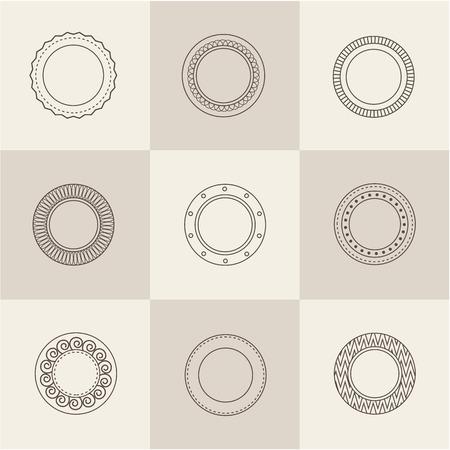 plate set: vector plate set