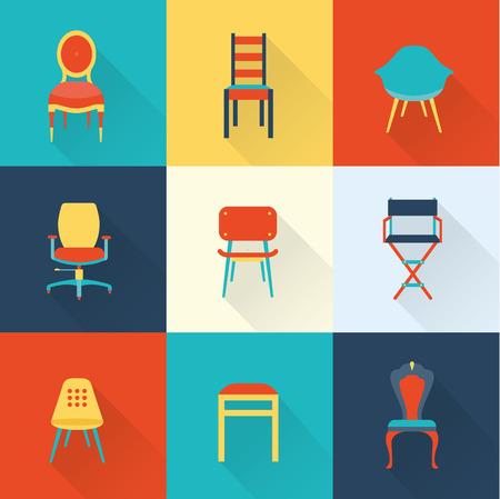 Cadeiras Ilustração