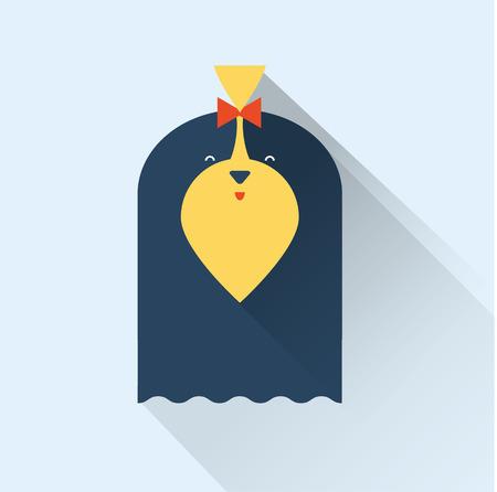 shih: Vector Dog Illustration