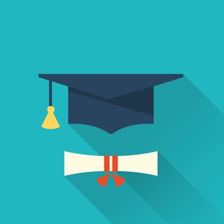 graduation cup icon