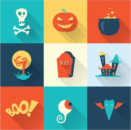 jack pot: Halloween set Illustration