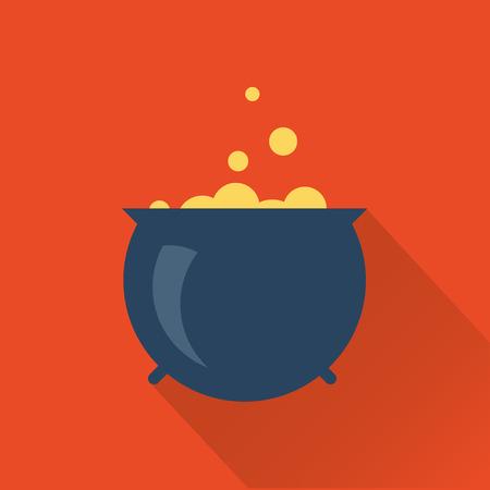 boil: halloween cauldron icon