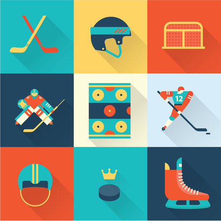 ice hockey player: hockey sport icons