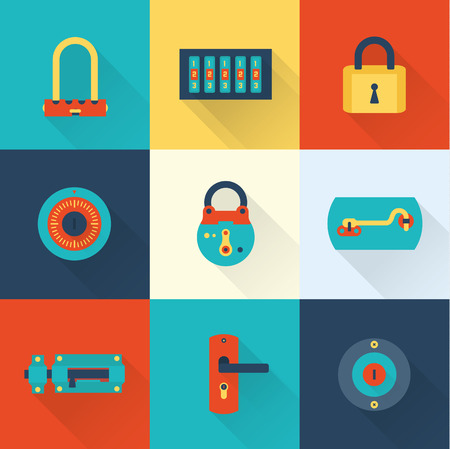 closed lock: Locks icons