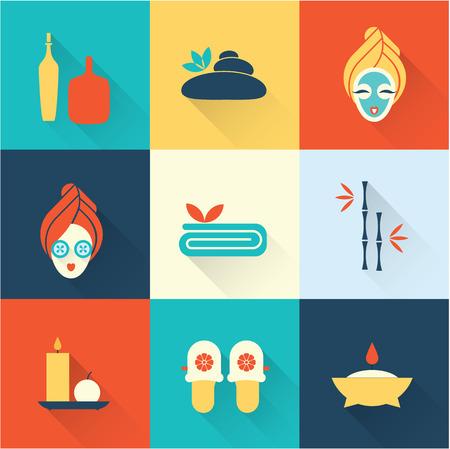salud sexual: Iconos de Spa