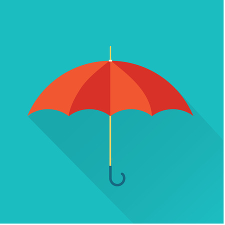 volute: umbrella icon