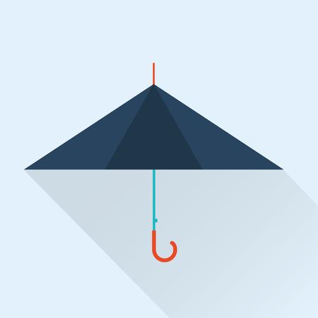 beach closed: umbrella icon