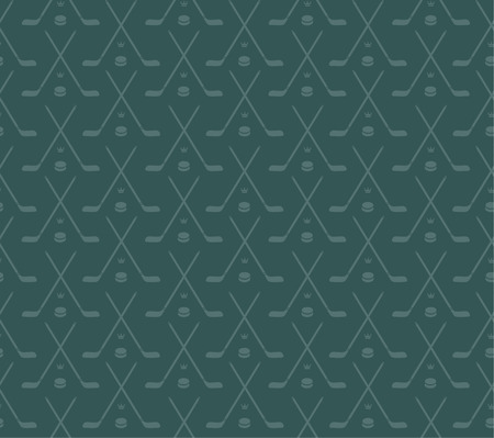stick and puck pattern Vector