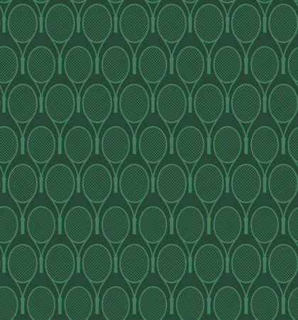 tennis racket: tennis racket pattern