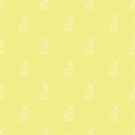 windmil pattern Illustration