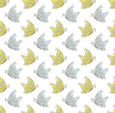 ébredés: pillangók minta Illusztráció