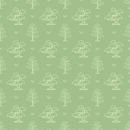 bougainvillea: bonsai tree pattern