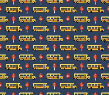 esc: school bus pattern