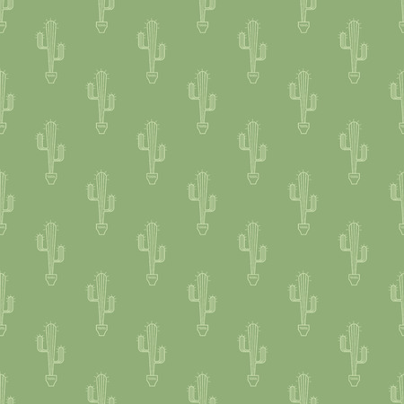 prickle: cactus in pot pattern