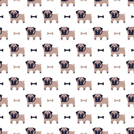 pug and bone pattern
