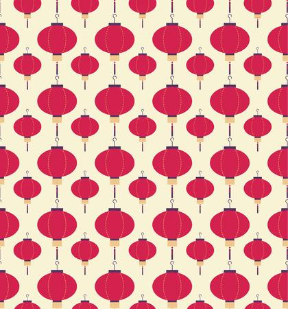 lighting column: Japanese lanterns pattern